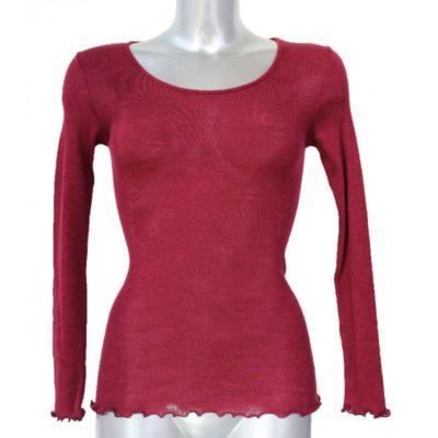 tee-shirt-ml-bordeau-laine-et-soie-madiva-lesneven