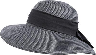 chapeau-anthracite-pastunette beachwear-lesneven-brest-plabennec-finistere