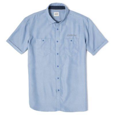 chemisette-bleu ciel-oxbow-campi-lesneven-plabennec