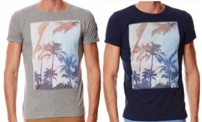 t shirt-hommes-marine et gris-hopenlife-lesneven-landerneau-plouescat-plabennec-brest
