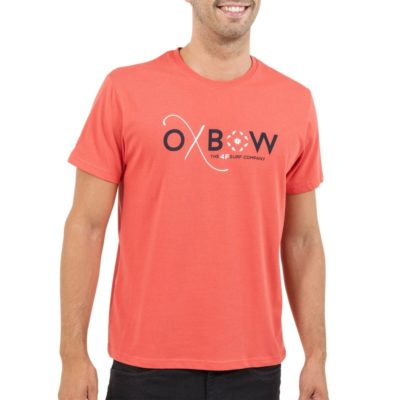 t-shirt-oxbow-tanaro-corail-adn-style-lesneven