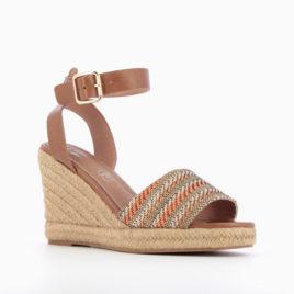 sandales-compensees-tressees-camel-et-orange-SD1902-adn-style-lesneven-2
