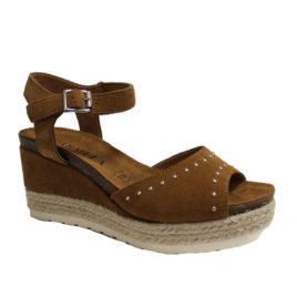 sandales-talons-compensés-camel-carmela-066790-adn-style-lesneven-1