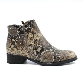 BOTTINES ALINE SNAKE LPB