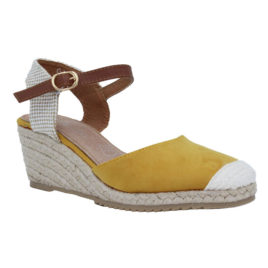 CHAUSSURES BOUTS FERMES  JAUNE