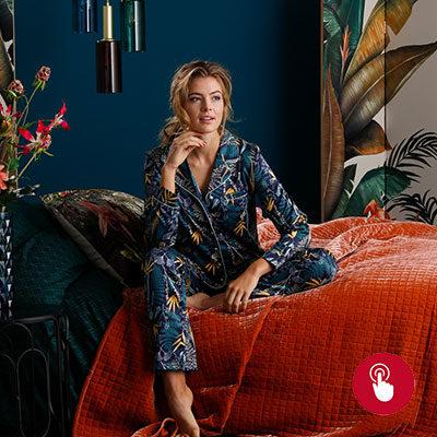 tenue-d'intérieur-pyjama-chemise de nuit-lesneven