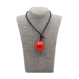 collier-petit--galet-gevole-coquelicot-adn-style-lesneven